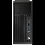 HP Z240 DDR4-SDRAM i7-7700K Tower 7th gen Intel® Core™ i7 8 GB 1000 GB HDD Windows 10 Pro Workstation Black