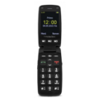 "Doro Primo 406 2.4"" 115g Black,Silver Entry-level phone"