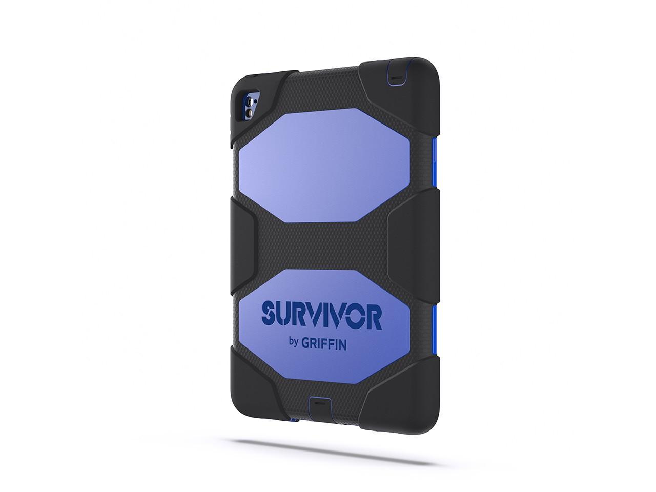 "Griffin Survivor All-Terrain 9.7"" Cover Black,Blue"