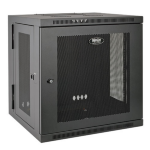 Tripp Lite SmartRack 12U Hinged Wall-Mount Standard-Depth Rack Enclosure Cabinet