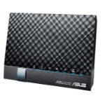 ASUS DSL-AC56U wireless router Dual-band (2.4 GHz / 5 GHz) Gigabit Ethernet 3G 4G Black