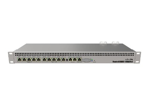 Mikrotik RB1100AHx4 wired router Gigabit Ethernet Stainless steel
