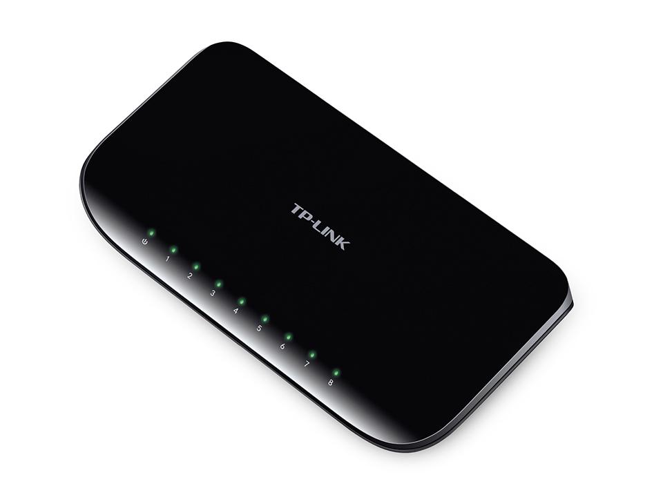 TP-LINK TL-SG1008D-V6 8 Port Gigabit Desktop Network Switch  UK