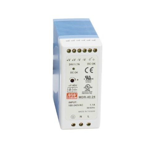 Black Box MDR-40-24 power supply unit 40.8 W Blue, White