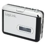 LogiLink UA0156 cassette player 1 deck(s) Black,Silver