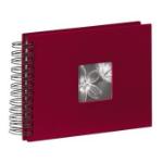"""Hama Spiral Album """"Fine Art"""", burgundy, 17x22/50 photo album Red 10 x 15, 13 x 18"""