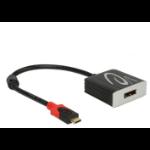 DeLOCK 62999 USB graphics adapter 3840 x 2160 pixels Black