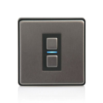 Lightwave L21 dimmers Smart dimmer Mountable Black,Stainless steel