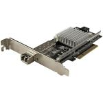 StarTech.com 1-Port 10G SFP+ Fiber Optic Network Card - PCIe - Intel Chip - MM