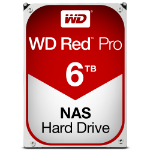 "Western Digital Red Pro 3.5"" 6000 GB Serial ATA III"