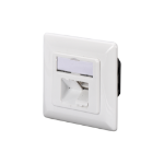 Digitus CAT 5e, Class D, wall outlet, flush mount