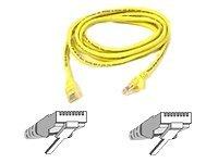 Belkin Patch cable - RJ-45(M) - RJ-45(M) - 1m ( CAT 5e ) - yellow