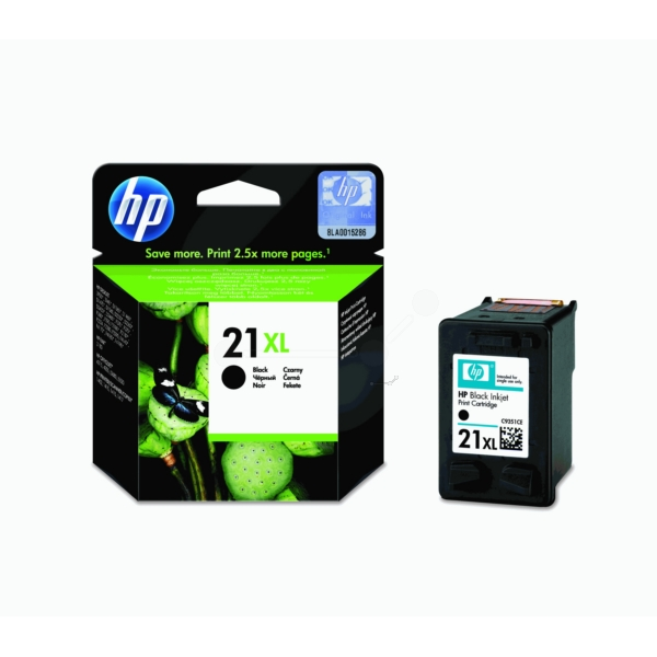 HP C9351CE (21XL) Printhead black, 475 pages, 12ml