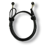 MCL 8LE-71017 cable antirrobo Negro 1,8 m