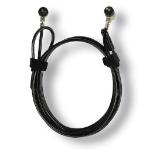 MCL 8LE-71017 cable antirrobo Negro 1,8 m