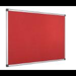 Bi-Office FA0246170 insert notice board Indoor Red Aluminium