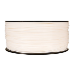 New MakerBot MP06234 Polylactic Acid Filament XL Spool White 2260g