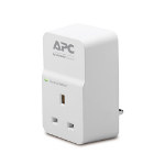 APC SurgeArrest 1AC outlet(s) 230V White surge protector PM1W-UK