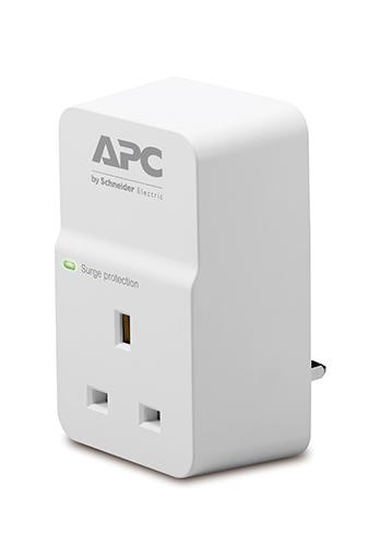 APC SurgeArrest 1AC outlet(s) 230V White surge protector