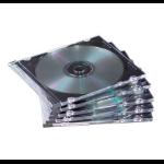Fellowes NEATO Slim Jewel Cases - 100 pack 100 discs Black
