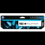HP 980 Origineel Zwart 1 stuk(s)