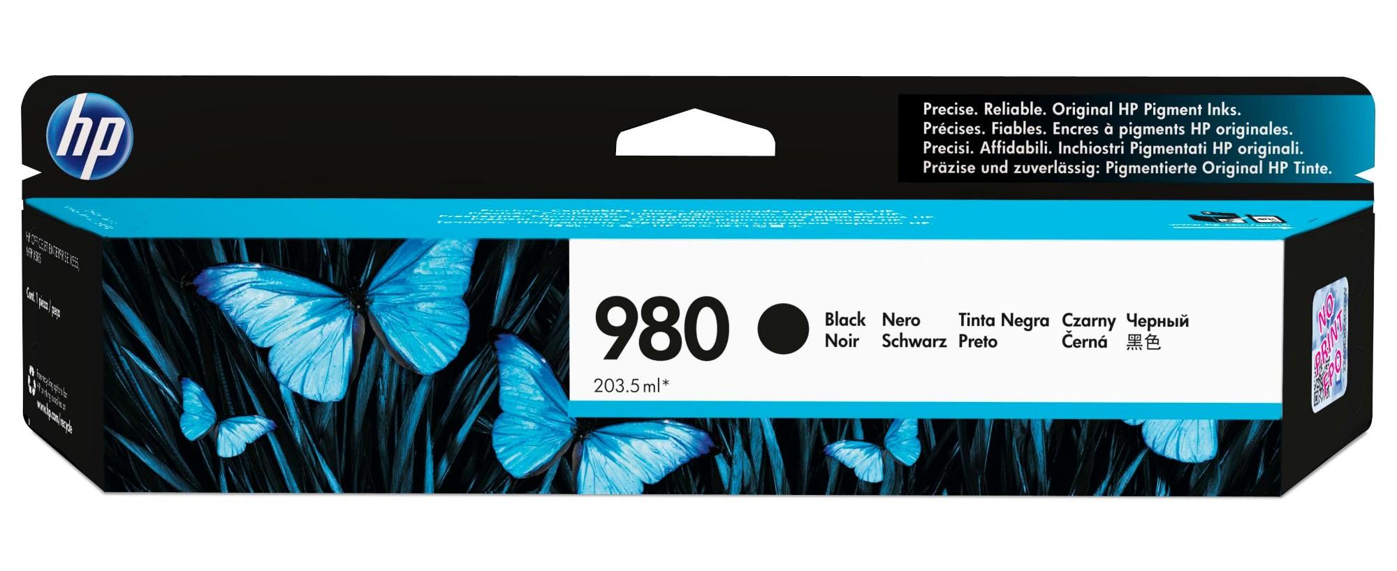 HP 980 Original Negro 1 pieza(s)