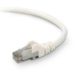 Belkin CAT6 STP Snagless Patch Cable networking cable 3 m White