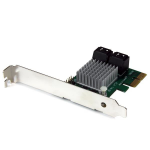 StarTech.com 4 Port PCI Express 2.0 SATA III 6Gbps RAID Controller Card with HyperDuo SSD Tiering