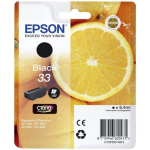 Epson C13T33314012 Ink cartridge black, 250 pages, 6ml