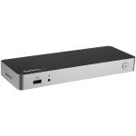 StarTech.com USB C Dock - Dual Monitor HDMI & DisplayPort 4K 30Hz - USB Type-C Laptop Docking Station 60W Power Delivery, SD, 4-port USB-A 3.0 Hub, GbE, Audio - Thunderbolt 3 Compatible