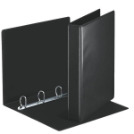 Esselte Panorama Ring Binders 4 x 30 mm Black ring binder A4
