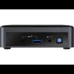 Intel NUC BXNUC10I7FNK2 PC/workstation barebone UCFF Black BGA 1528 i7-10710U 1.1 GHz