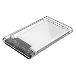 "Orico Transparent 2139U3 2.5"" USB3 External Hard Drive Enclosure"