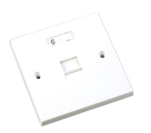 Videk 1678 wall plate/switch cover White