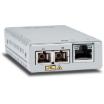 Allied Telesis AT-MMC2000/SC-60 network media converter 1000 Mbit/s 850 nm Multi-mode Silver
