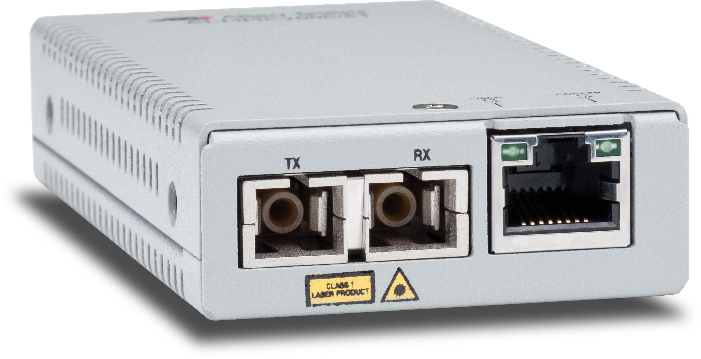 Allied Telesis AT-MMC2000/SC-60 1000Mbit/s 850nm Multi-mode Silver