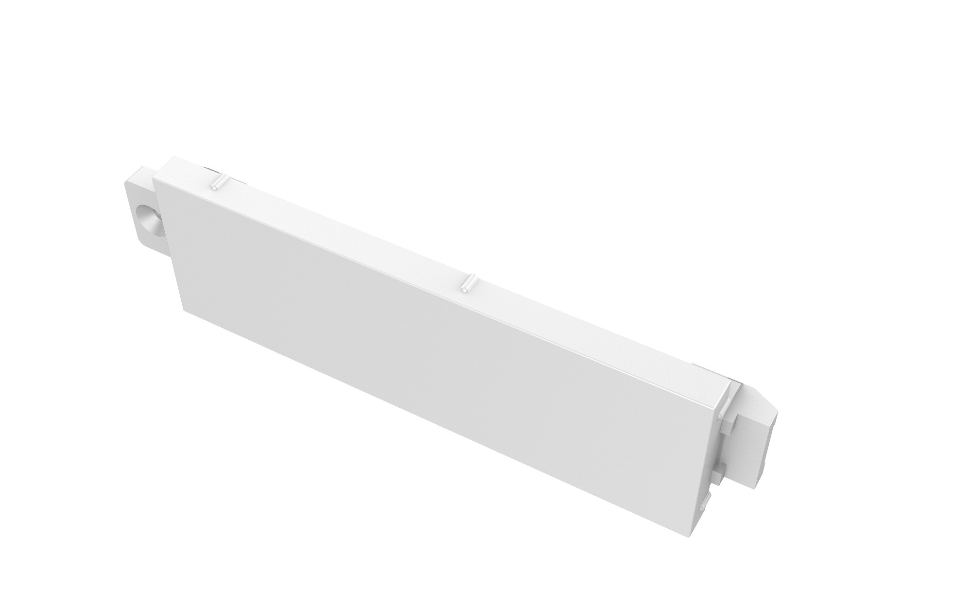 Vision TC3 BLANK placa de pared y cubierta de interruptor Blanco