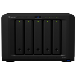 Synology DS1517+ NAS Desktop Ethernet LAN Black