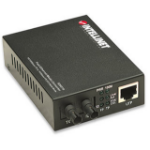 Intellinet 506519 network media converter 100 Mbit/s 1310 nm Multi-mode Black