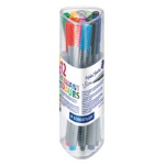 Staedtler triplus 334 Multicolour 12pc(s) fineliner