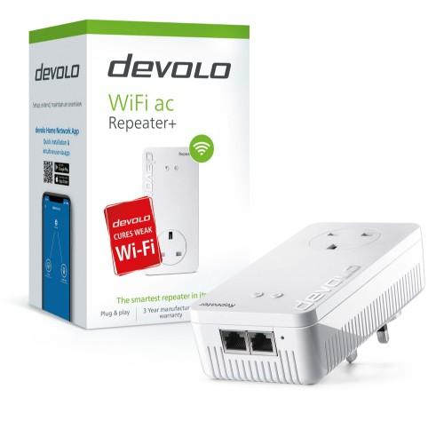 Devolo WiFi Repeater+ ac 1200 Mbit/s Network repeater White
