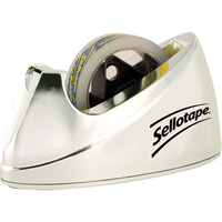 Sellotape E DISPENSER LARGE CHROME 4640