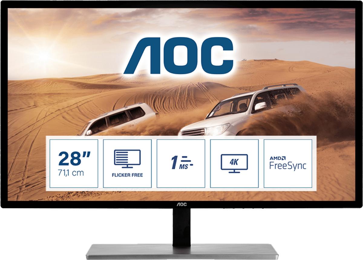 AOC 79 Series U2879VF computer monitor 71.1 cm (28