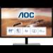 "AOC 79 Series U2879VF pantalla para PC 71,1 cm (28"") 3840 x 2160 Pixeles 4K Ultra HD LCD Negro, Plata"