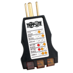 Tripp Lite CT120 battery tester Black