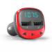 Energy Sistem 44825 transmisor FM 87,5 - 108 MHz Encendedor de cigarrillos Rojo