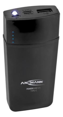 Ansmann 5.4 power bank Black Lithium-Ion (Li-Ion) 5000 mAh