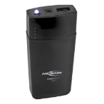 Ansmann 5.4 power bank Black Lithium-Ion (Li-Ion) 5000 mAh