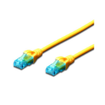FDL 0.3M CAT.5e UTP PATCH CABLE - YELLOW