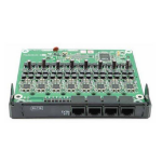 Panasonic KX-NS5172X Extension card Premise Branch Exchange (PBX) system accessory